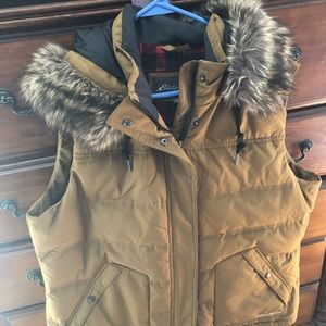 EDDIE BAUER LADIES XXL DOWN FILL VEST. BRAND NEW